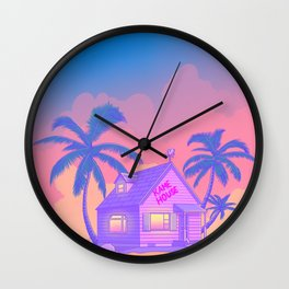80s Kame House Wall Clock