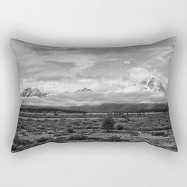 Tetons, Wyoming Rectangular Pillow