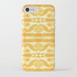 Yellow Tie Dye Twos iPhone Case