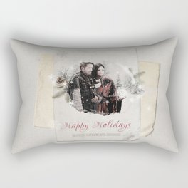 OUAT HAPPY HOLIDAYS // OUTLAW QUEEN Rectangular Pillow