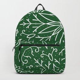 Green Snowflake Mandala from Peppermint Creek Backpack