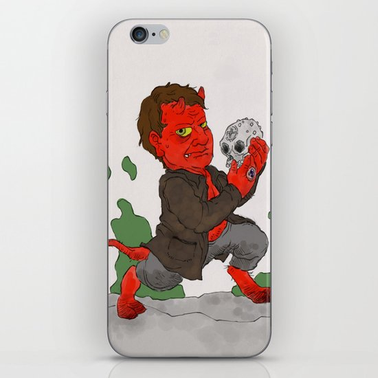 """Hell in a Handbasket"" by Virginia McCarthy iPhone & iPod Skin"