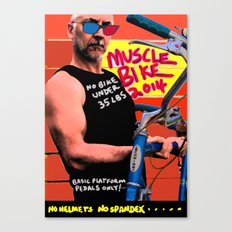 muscle bike  Canvas Print