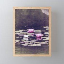 LOTUS I Framed Mini Art Print