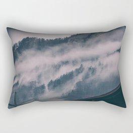 Swiss Fog III Rectangular Pillow