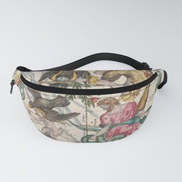 Vintage Constellation Map - Star Atlas - Sagittarious - Scorpio Fanny Pack