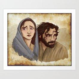 Two For Bethlehem Art Print