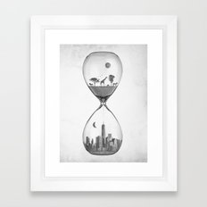 THE EVOLUTION OF THE WORLD Framed Art Print