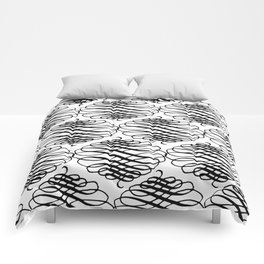 Curly Pattern 08 Comforters