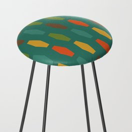 Colima - Teal Counter Stool