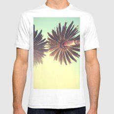 Big Sun Mens Fitted Tee White MEDIUM