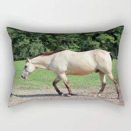 Off On A Trot Rectangular Pillow