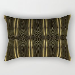 Golden Streamer Mat Rectangular Pillow