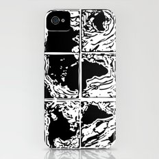 Monotype Map (Black) iPhone (4, 4s) Slim Case