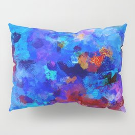 Abstract Seascape Painting Pillow Sham