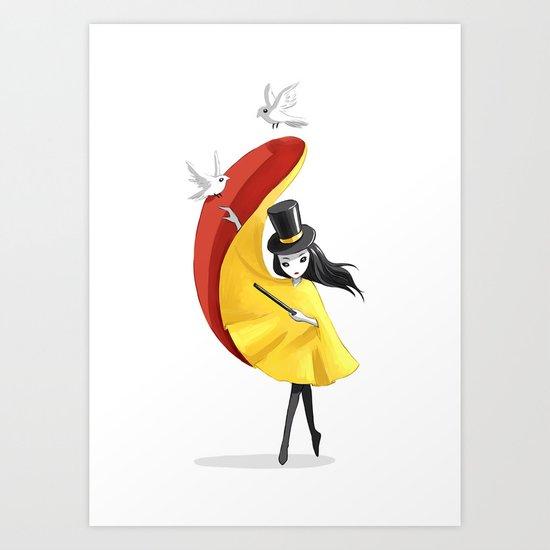 Magician 2 Art Print