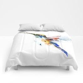 Flying Hummingbird Comforters