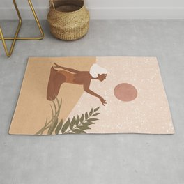 Strawberry Full Moon - Manifest your Desires and Wishes Rug
