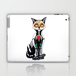 Sugar Skull Kitty Cat Laptop & iPad Skin