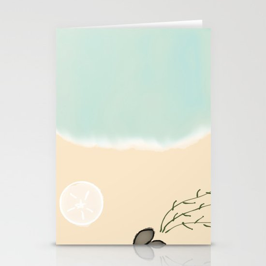 Down By The Seashore Stationery Cards