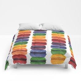 Rainbow Macaron Comforters
