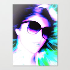 THE WOMAN OF COLOR Canvas Print