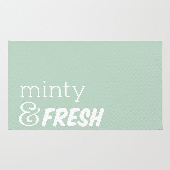 Minty Fresh Rug