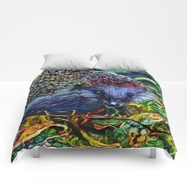 Dreamworld Hedgehog | Painting Comforters