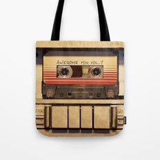 Awesome Mix Vol 1 Tote Bag