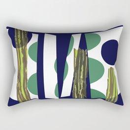 Arc en plein décentré Rectangular Pillow