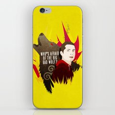 Sterek: Who's Afraid of the Big Bad Wolf? iPhone & iPod Skin