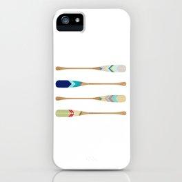 Oars iPhone Case