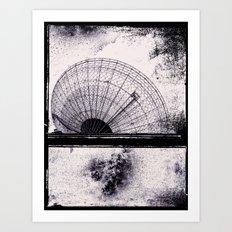 Space study Art Print