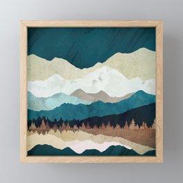 Fall Forest Night Framed Mini Art Print