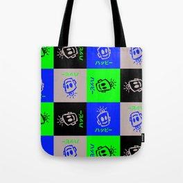 HAPPY Japanese Tote Bag