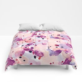 Abstract-Pink Comforters