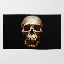 Life. Skull Painting Rug