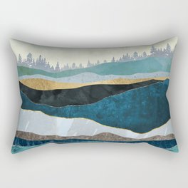 Turquoise Hills Rectangular Pillow