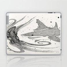 Squid & Shark Laptop & iPad Skin