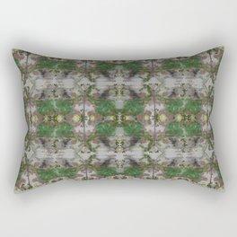 The Butterfly Effect Greens  Rectangular Pillow
