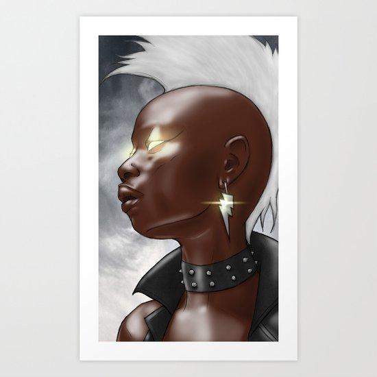 Ororo Art Print