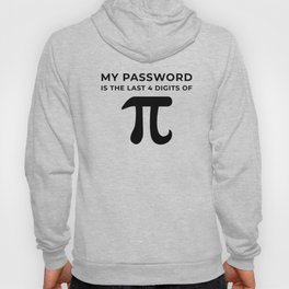 My password is the last 4 digits of PI Hoody
