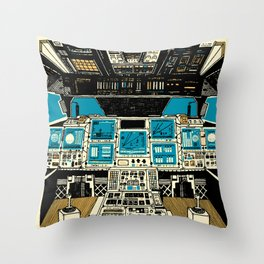 To Outer Space! Throw Pillow