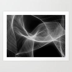 Soundwaves (ANALOG zine) Art Print
