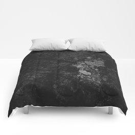 Luxury Black Marble Comforters