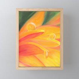 dew drop Framed Mini Art Print