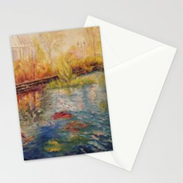 Autumn at Phipps Conservatory by Marianne Fadden Stationery Cards