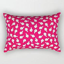 Fucking mouse Rectangular Pillow