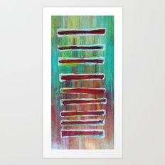 Sections Art Print