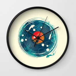 Sound of Water Wall Clock